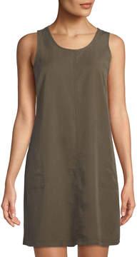Dex Scoop-Neck Sleeveless Utility Dress