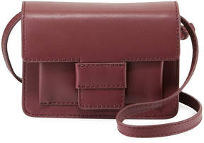 Steven Alan Billie Small Flap Leather Crossbody Bag