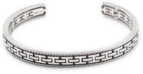 Effy Men's .925 Sterling Silver Bangle Bracelet