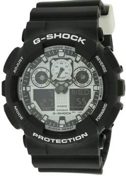 Casio G-Shock Mens Watch GA100BW-1A