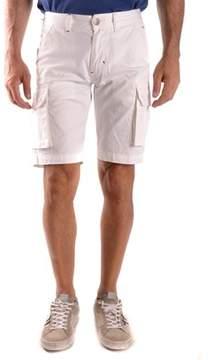 Sun 68 Men's White Cotton Shorts.