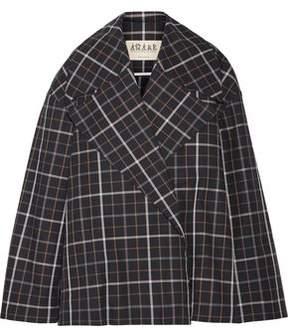 Awake Jellycheck Oversized Cotton-Blend Twill Jacket