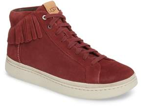 UGG Brecken Fringe High-Top Sneaker