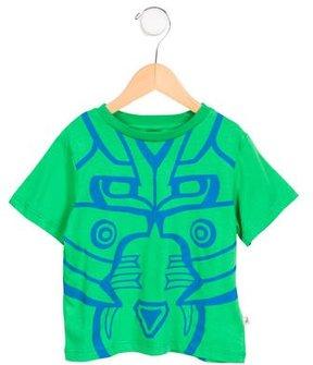 Stella McCartney Boys' Short Sleeve Printed Shirt