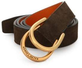 Ralph Lauren Stirrup D-Ring Belt