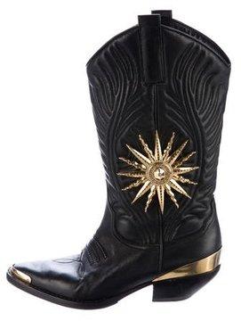 Fausto Puglisi Sun Cowboy Boots