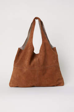 H&M Large Suede Shopper - Orange