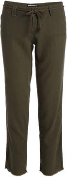 Dollhouse Army Green Crop Pants - Juniors & Plus