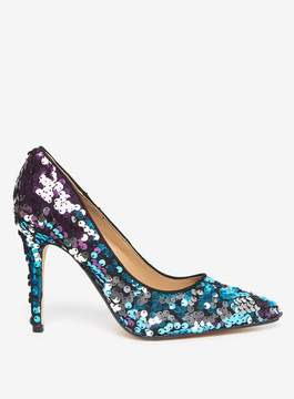 Dorothy Perkins Multi 'Galaxy' Sequin Court Shoes
