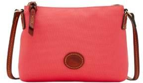 Dooney & Bourke Nylon Crossbody Pouchette Shoulder Bag - WATERMELON - STYLE