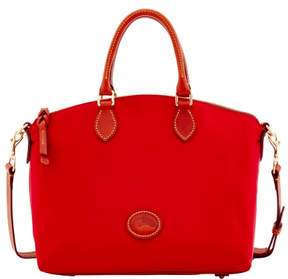 Dooney & Bourke Nylon Satchel - RED - STYLE