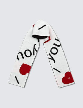 Raf Simons I Love You Scarf