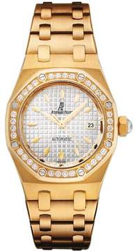 Audemars Piguet Royal Oak Diamond Automatic 18 kt Yellow Gold Ladies Watch