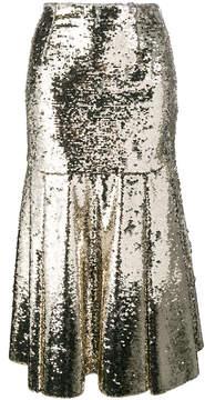 Emilia Wickstead Le-Roy sequinned midi-skirt