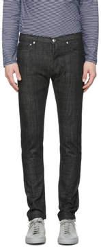 A.P.C. SSENSE Exclusive Black Petit New Standard Jeans