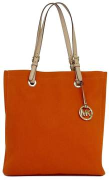 Michael Kors Orange Canvas Tote - ORANGE - STYLE