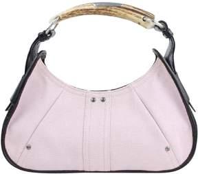 Saint Laurent Mombasa cloth handbag - PINK - STYLE