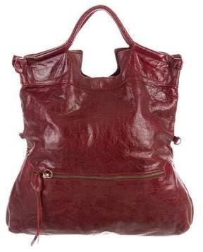 Foley + Corinna Leather Fold-Over Tote