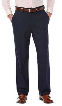 Haggar Men's J.M. Premium Straight-Fit Stretch Flex-Waist Dress Pants