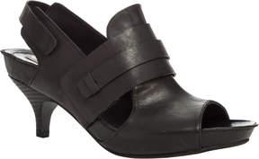 Max Studio Marcel - Waxed Leather Footbed-Kitten Heel Sandals