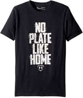 Under Armour Kids No Plate Like Home Short Sleeve Tee Boy's T Shirt