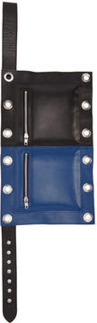 Craig Green Black and Blue Flag Pouch
