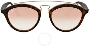 Ray-Ban Gatsby II Copper Gradient Mirror Sunglasses