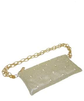 Whiting & Davis Crystal Belt Bag