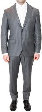 Lubiam Drop 7 Pinstripe Wool Suit