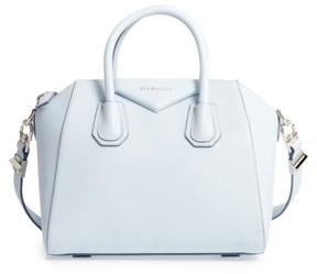 Givenchy 'Small Antigona' Leather Satchel - Blue