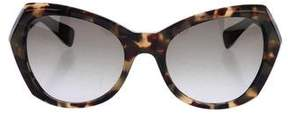 Marc Jacobs Tortoiseshell Round Sunglasses