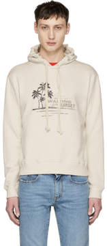 Saint Laurent Off-White Waiting For Sunset Hoodie