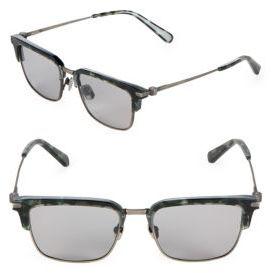 Brioni 53MM Clubmaster Sunglasses