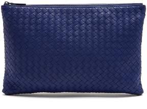 Bottega Veneta Intrecciato leather pouch