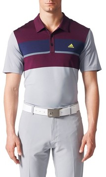 adidas Men's Climacool Colorblocked Polo