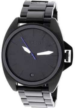 Nixon Men's Anthem A396001 Black Stainless-Steel Plated Swiss Quartz Dress Watch