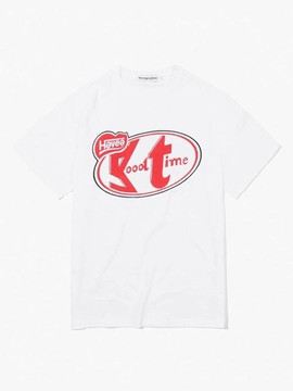 Have A Good Time Have a Break Tee - White