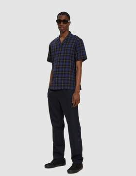 Carhartt Wip S/S Lyndon Shirt in Lyndon Check/Sapphire