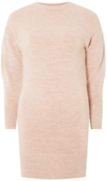 Dorothy Perkins Blush Knitted Tunic Jumper