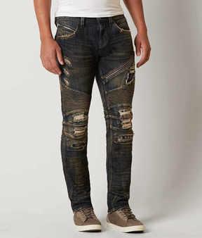 Rock Revival Jezek Moto Slim Straight Stretch Jean