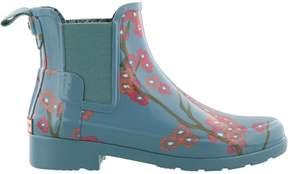 Hunter Refined Blossom Print Chelsea Boots