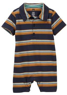 Tea Collection Kings Cross Polo Romper (Baby Boys)