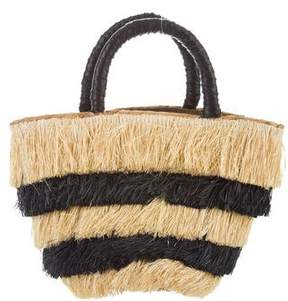 Kayu Fringed Straw Bag
