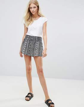 Blend She Stelle Printed Shorts