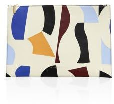 Victoria Beckham Large Simple Leather Pouch