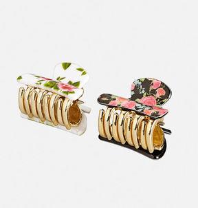 Floral Hair Clip Set