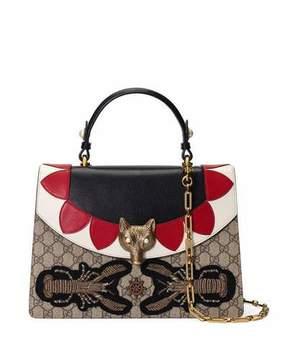 Gucci Broche GG Supreme Top-Handle Bag - MULTI - STYLE
