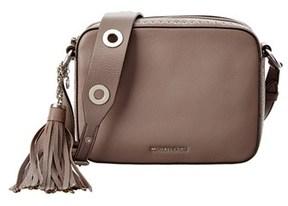 MICHAEL Michael Kors Brooklyn Large Leather Camera Bag. - KHAKI - STYLE