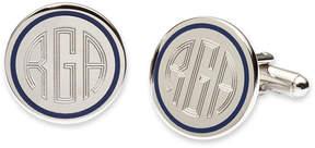 Asstd National Brand Blue Pinstripe Cuff Links