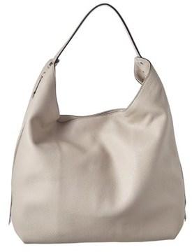 Rebecca Minkoff Bryn Double Zip Leather Hobo. - BEIGE - STYLE
